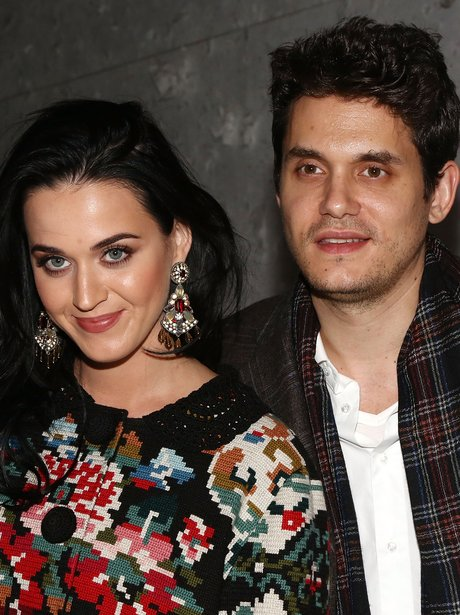 Katy Perry and John Mayer attend Broadway musical