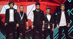 One Direction perform on the x factor final