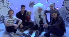The Wanted singing 'White Christmas'