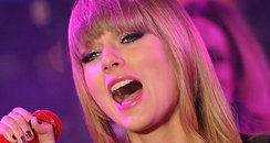 Taylor Swift performs during New Year