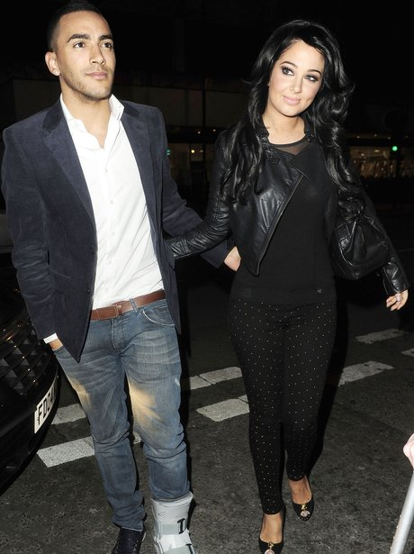 Tulisa Contostavlos and Danny Simpson out in London