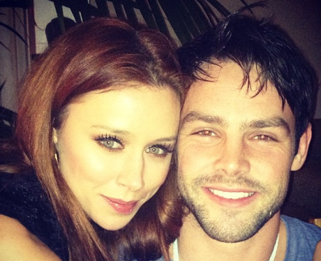 Una Healy and Ben Foden celebrate New Year