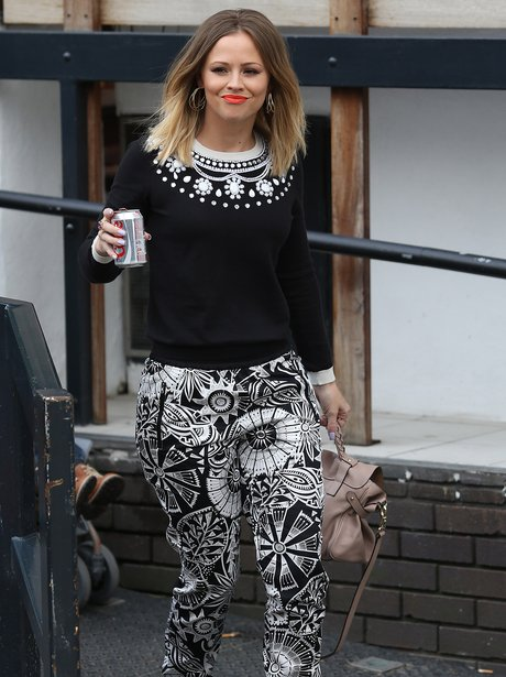 Kimberley Walsh pictured in London 2013