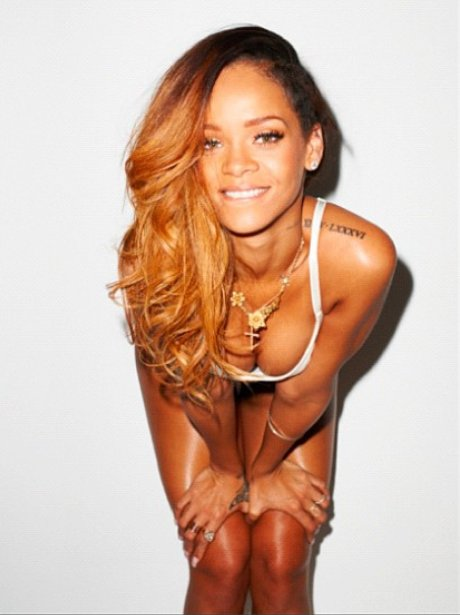 Rihanna's Terry Richardson photoshoot outakes
