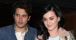 Katy Perry and John Mayer celebrate valentines day