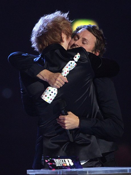 Ed Sheeran and One Direction BRIT Awards 2013