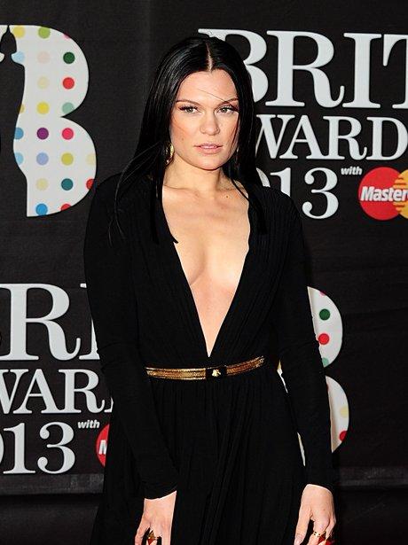 Jessie J arriving for the Brit Awards 2013