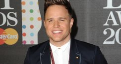Olly Murs at the BRIT Awards 2013