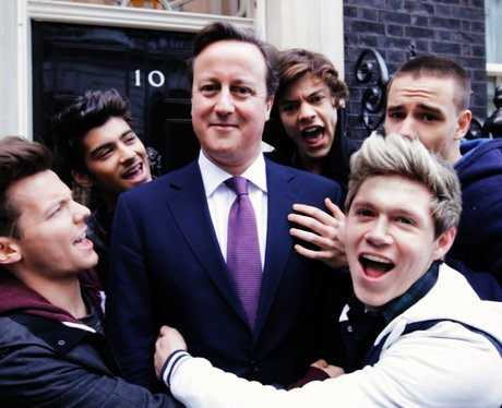 One Direction and David Cameron