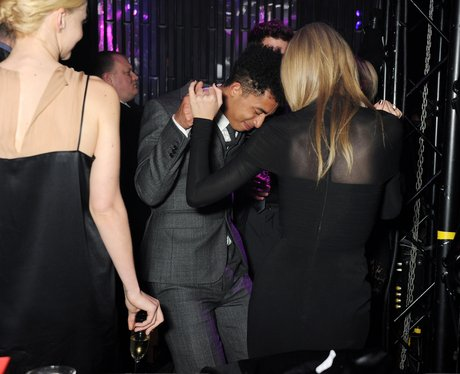 Taylor Swift and Rizzle Kicks party after the BRITS 2013