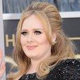 Adele arrives at the Oscars 2013