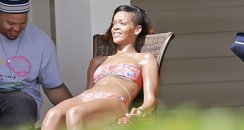 Rihanna in a bikini in Hawaii