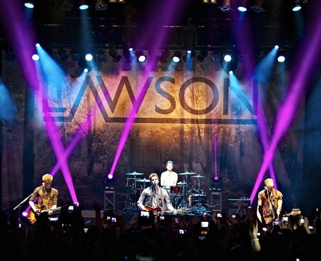 Lawson perform on their tour