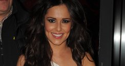 Cheryl Cole at Girls Aloud aftershow party