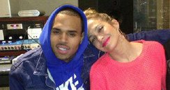Chris Brown with Jennifer lopez