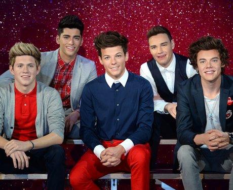 One Direction waxworks 2013