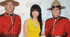 Carly Rae Jepsen With Mounties