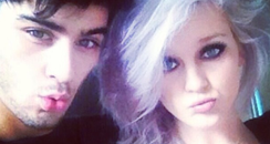Perrie Edwards and Zayn Malik Instagram