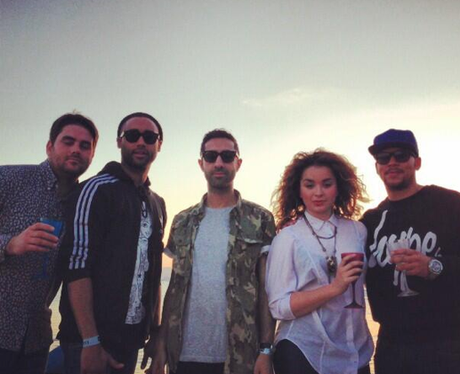 Rudimental on the beach in Cannes