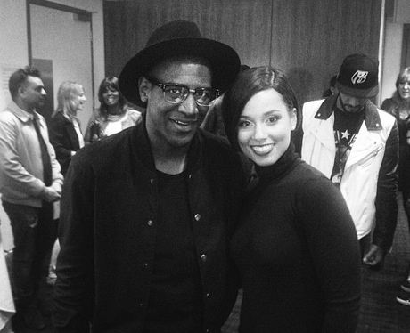 Labrinth and Alicia Keys