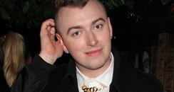 Sam Smith on a night out