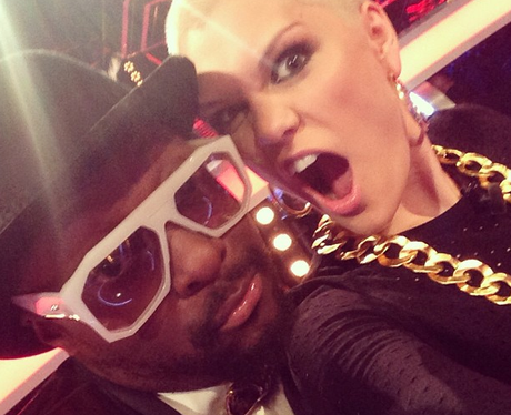 Jessie J and Will.I.am