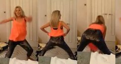 Mollie King Twerking
