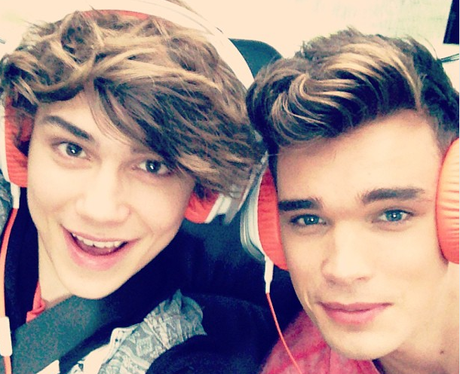 George And Josh From Union J On Instagram