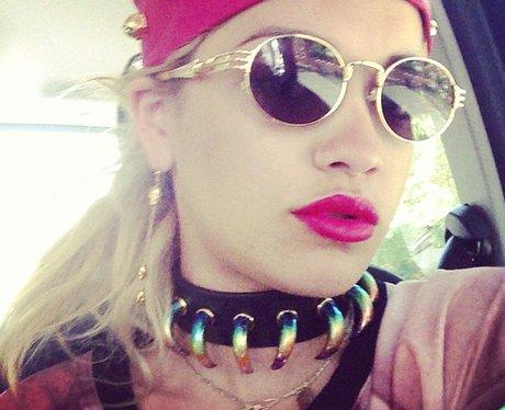 Rita Ora Rocks The Selfie - Capital SnapStars (15th July ...