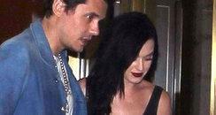 Katy Perry and John Mayer out for dinner