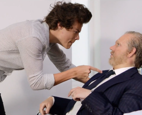 Harry Styles and Niall Horan in the 'Best Song Ever' music video