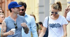 Adam Levine and Behati Prinsloo house hunting