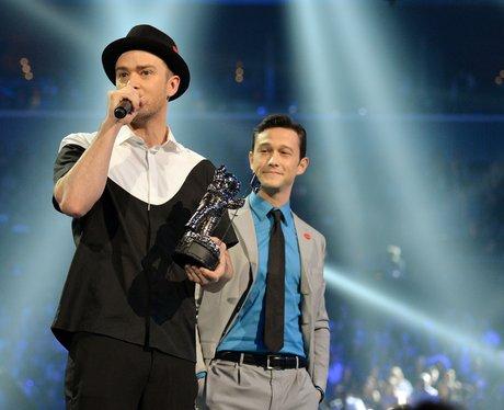 Justin Timberlake, Joseph Gorden-Levitt MTV VMAs 2