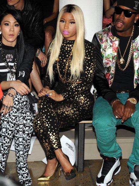 Nicki Minaj Fashion Week