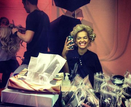 Rita Ora hairdressers