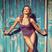 Image 8: Cheryl Cole in a purple bathing suit