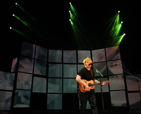 Ed Sheeran At Madison Square Garden