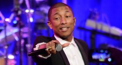 Pharrell on stage