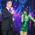 Robbie Williams and Lily Allen