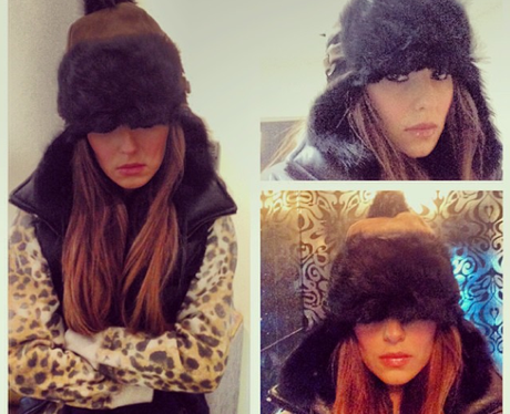 Cheryl Cole Shows How Little She's Enjoying The Cold ... Cheryl Cole Instagram