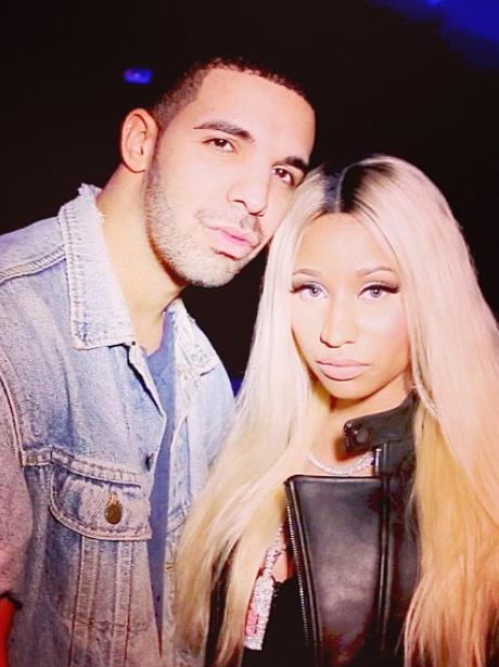 Nicki Minaj with Drake
