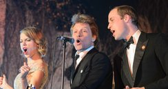 Taylor Swift, Jon Bon Jovi, Prince William