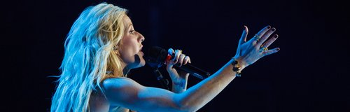 Ellie Goulding live Jingle Bell Ball 2013