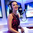 Katy Perry backstage Jingle Bell Ball 2013