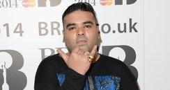 Naughty Boy at the BRIT Awards nominations 2014
