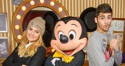 Zayn Malik and Perrie Edwards at Disneyland