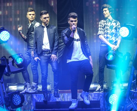 Union J perform live on stage in Bristol