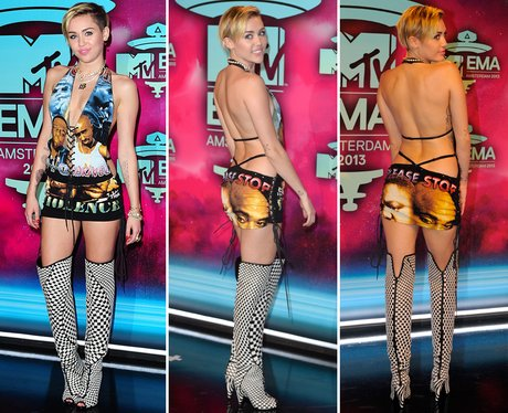 Riskiest Outfits: Miley Cyrus