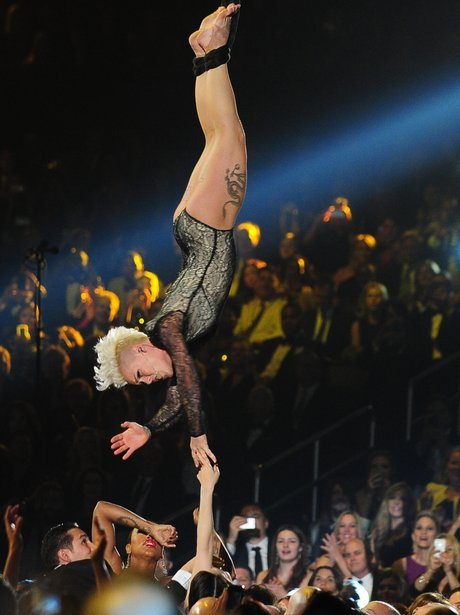 Pink live at the Grammy Awards
