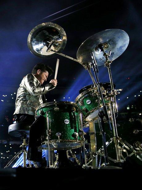 Bruno Mars Super Bowl Halftime Show Performance